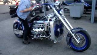 Highest / most horsepower motorcycle 926HP all motor warm up fastest