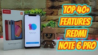 Redmi Note 6 pro Top 40+ Hidden Features , Advance Features , Best Features ! Tips & Tricks !! HINDI