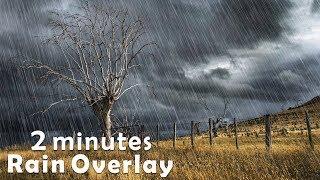 Photoshop Rain Effect Tutorial (Download Free Rain Overlay)