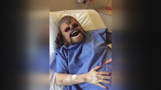 Woman Dubbed 'New' Chewbacca Mom For Wearing 'Star Wars' Mask During Childbirth
