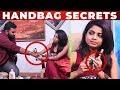 LIP STICK Test With VJ Ashiq | RJ Raghvi HANDBAG Secrets | What