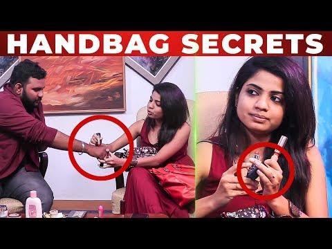 Xxx Mp4 LIP STICK Test With VJ Ashiq RJ Raghvi HANDBAG Secrets What S Inside The Handbag 3gp Sex