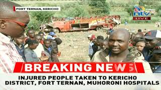 Eyewitnesses recount the scene of the accident and response to the Fort Ternan crash