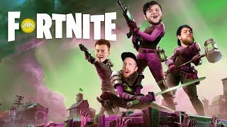 Skydoes FORTNITE!? Preston, Adam, Red, Barney, and Evan!!!