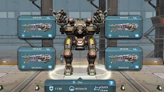 War Robots [3.3] Test Server - NEW Shock Weapon Preview