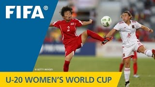 MATCH 25: KOREA DPR v SPAIN - FIFA Women's U20 Papua New Guinea 2016