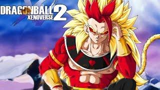 SAIYAN GOD OF DESTRUCTION RYCON! Super Saiyan 4 Rycon Open Battle | Dragon Ball Xenoverse 2 Mods