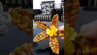 newspaper weaving flower