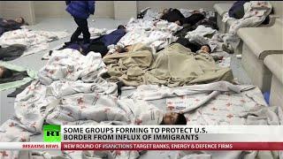 Private militias supplement US Border Patrol
