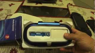 PS Vita Media Stand Kit Unboxing & Hands On (Blue Version)