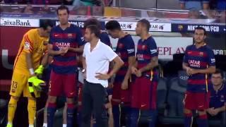 HIGHLIGHTS   FC Barcelona   vs Bayern leverkausen (29/09/2015)