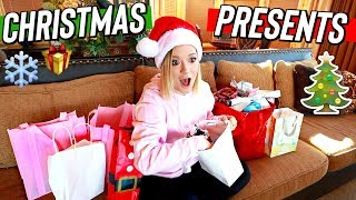 christmas present gift exchange! vlogmas day 10