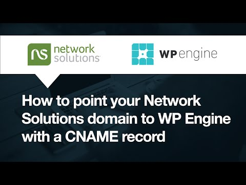 Xxx Mp4 Network Solutions How To Point Your Domain To WP Engine With CNAME 3gp Sex
