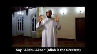 How To Perform Salah Like Prophet Muhammad (saw) (PAT.01)