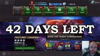 42 Days Left - 15k Unit Goal | Marvel Contest of Champions