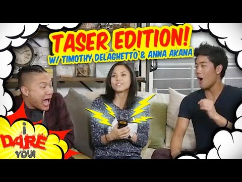 I Dare You GETTING TASED ft. Timothy Delaghetto & Anna Akana