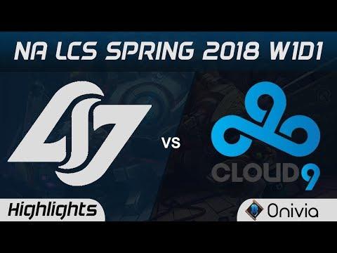 Xxx Mp4 CLG Vs C9 Highlights NA LCS Spring 2018 Counter Logic Gaming Vs Cloud9 By Onivia 3gp Sex