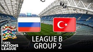 Russia vs Turkey - 2018-19 UEFA Nations League - PES 2019