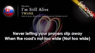TWiiNS 'I`m Still Alive' Slovakia   ESC 2011 lyrics winner?
