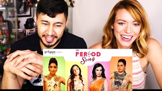 GIRLIYAPA'S THE PERIOD SONG | Reaction & Discussion w/ Ginger!