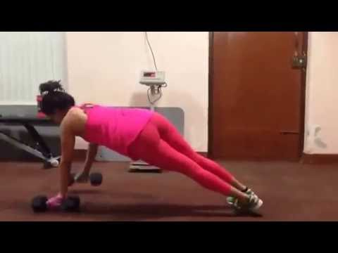 Actress Samantha sexy work out in gym  How she behaves on off screen