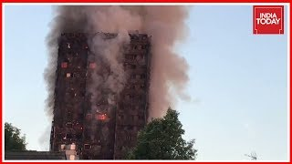 London Fire: Fears Of People Trapped As Major Blaze Engulfs Tower Block