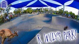 AUSSIE DAY 1: RIDING R-WILLY'S LOCAL PARK!!