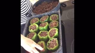 FEED ME:  Quick and Easy Stuffed Pepper Recipe