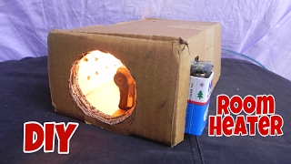 How to Make a Simple Room Heater