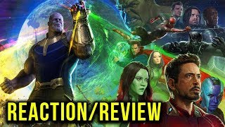 AVENGERS: INFINITY WAR Official Trailer Reaction/Review