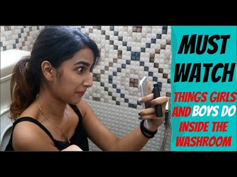 Xxx Mp4 TYPES OF PEOPLE IN WASHROOM Watch Till End 3gp Sex