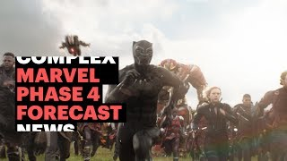 Marvel Phase 4 Forecast: Black Widow, The Eternals, Black Panther 2 and Beyond