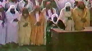 من الزمر وغافر وفصلت تراويح ليلة 23-9-1408هـ الشيخ علي جابر رحمه الله Ali Jaber