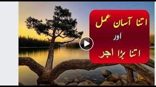 Itna Asan kam Aur itna ziyada sawab Islamic Byan  By Muhammad Raza Saqib Mustafai  Latest Bayan 2017