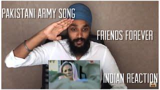 O Meray Yaar, To Mera Pyar, Sada Rahay To Salamat | Pakistani Army Song Reaction
