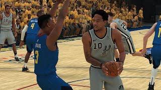 Denver Nuggets vs San Antonio Spurs – Game 5 NBA Playoffs 2019 Full Game  NBA 2K19 4/23/19