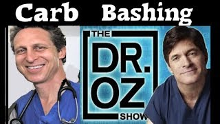 Carbs and LUNG CANCER?  Dr. OZ show with anti-vegan Paleo Hyman