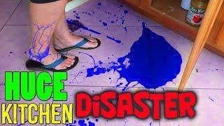 HUGE KITCHEN DISASTER