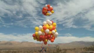 Crazy Lawn Chair Balloon Flight!
