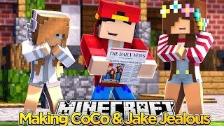 Minecraft Adventure -  MAKING COCO & JAKE JEALOUS!!!