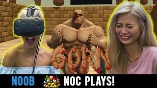 NOC Plays Gorn | VR  HTC VIVE