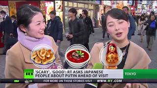 Heading East: Japanese talk about Russia & Putin ahead of visit
