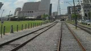 New Orleans - Riverfrount Streetcar -French Market