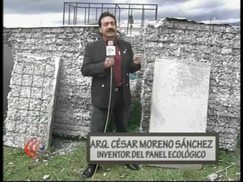 PANEL ECOLÓGICO Reportaje CORACYT