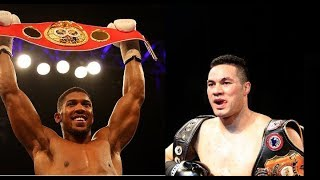 Anthony Joshua, Joseph Parker BEEF Is GREAT For Heavyweight Boxing!!!