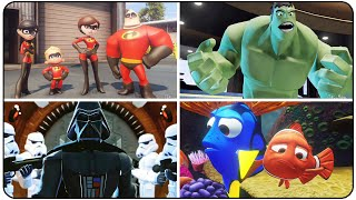 Disney Infinity - ALL INTROS (All Playsets - Marvel, Star Wars, Inside Out & Finding Dory)