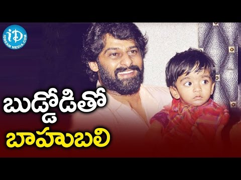 Xxx Mp4 Prabhas Having Nice Time With A Kid Family Function 3gp Sex