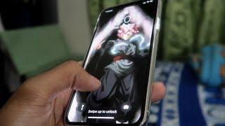 Goku Black iPhone X Live Wallpaper