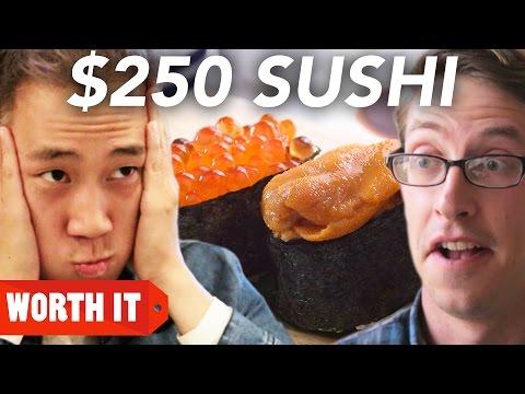 3 Sushi Vs. 250 Sushi