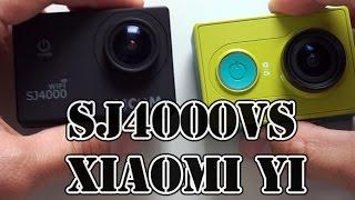 Xiaomi YI vs SJ4000 Which camera is better? Side by side comarison